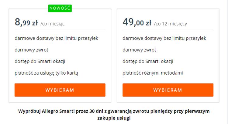 Nowe Zasady Allegro Smart Koniec Limitow Przesylek I Plan Za 8 99 Zl Telepolis Pl