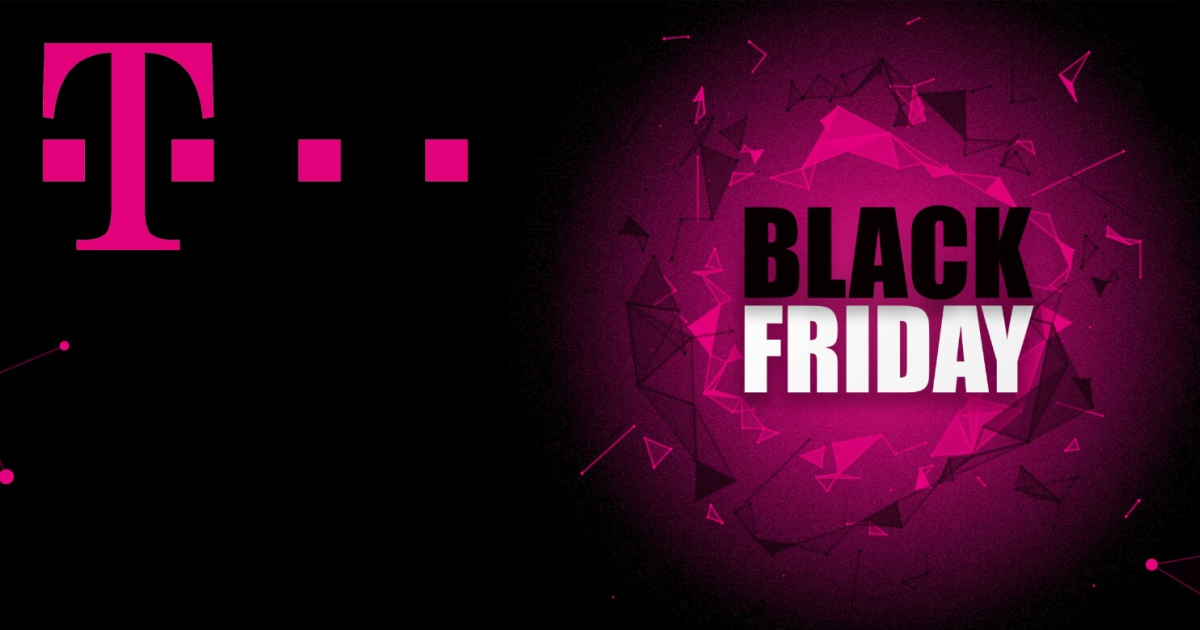 T-Mobile logo Black Friday