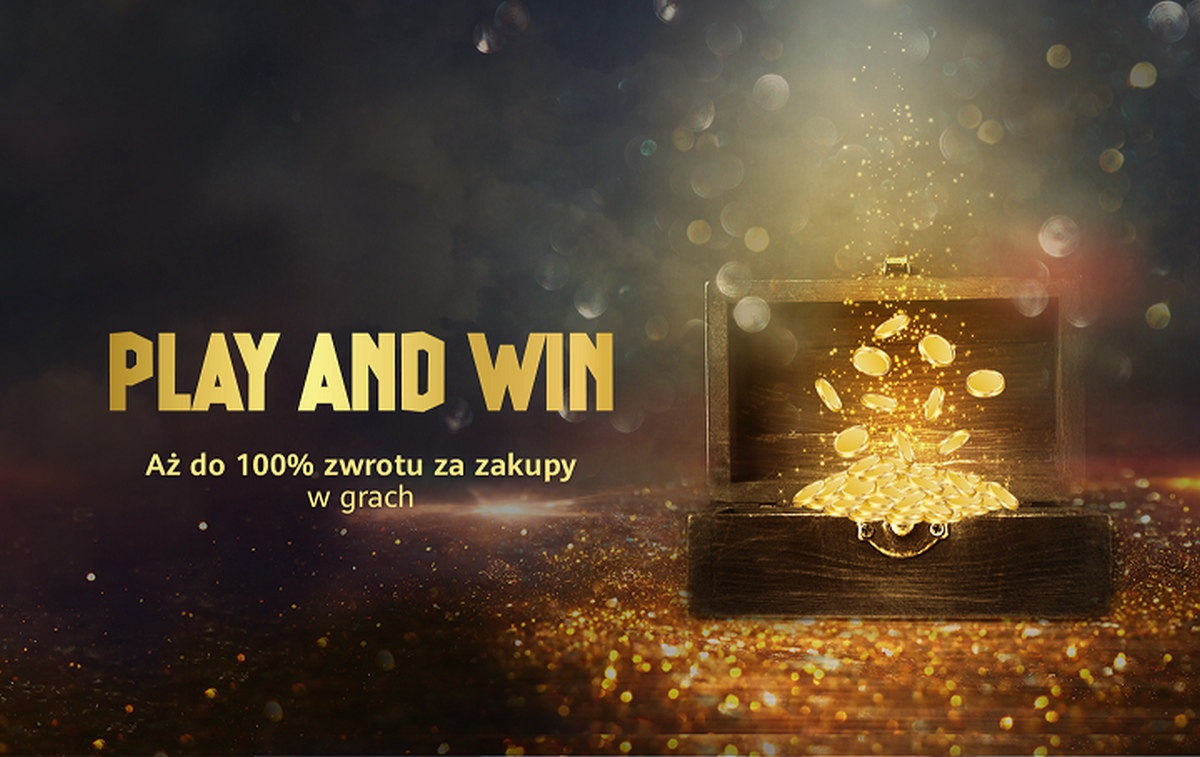 Huawei Play and Win baner