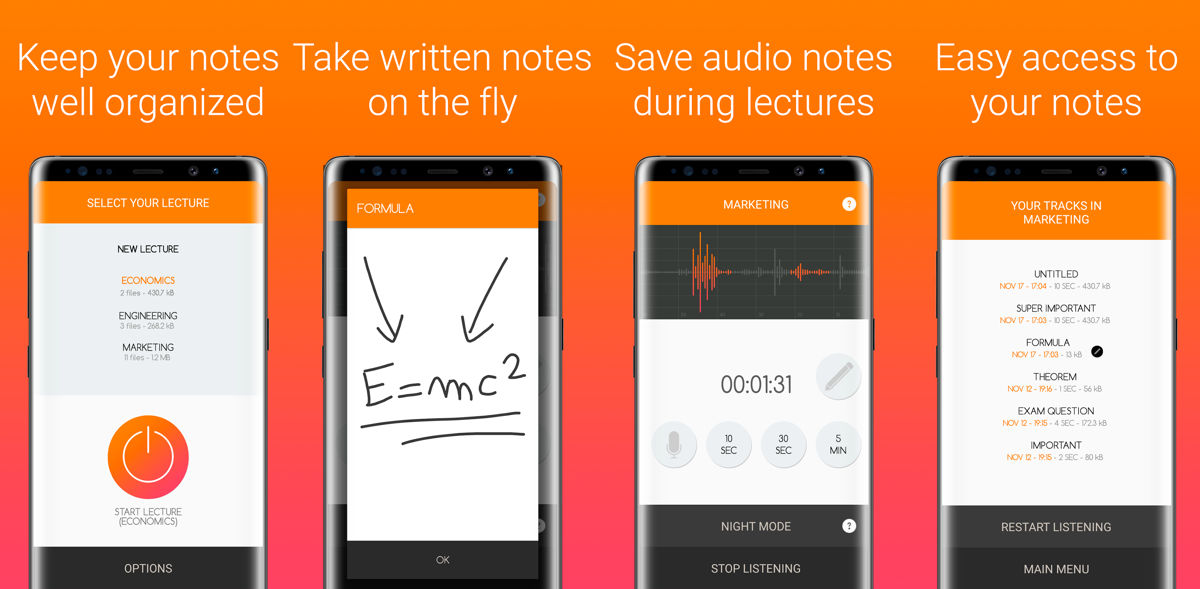 Lecture Notes w Google Play