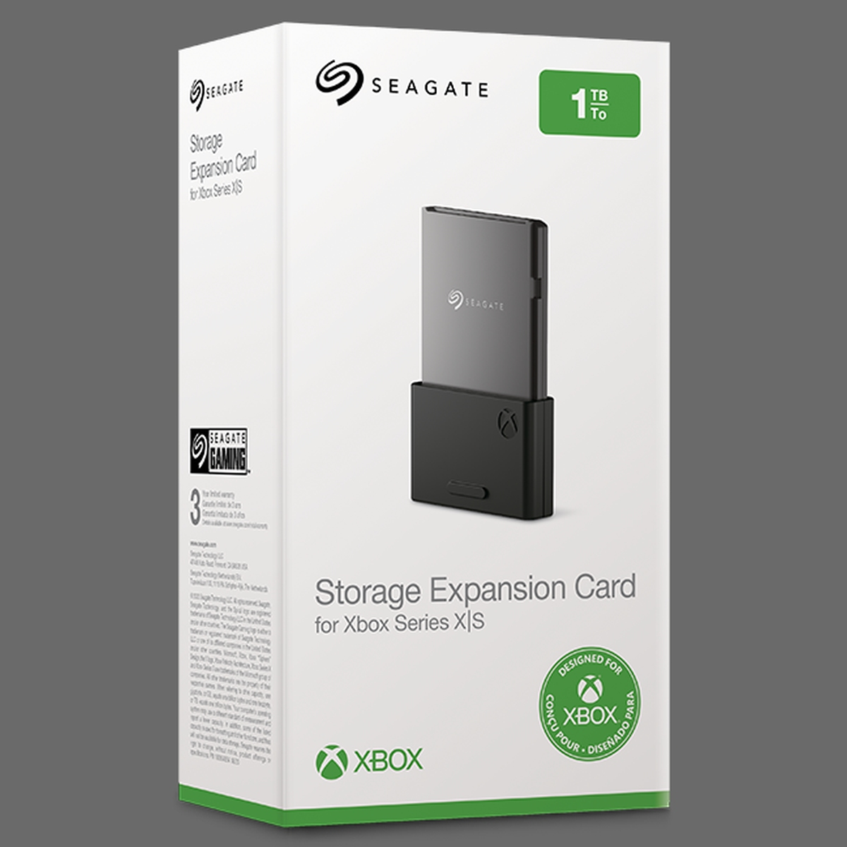 Seagate Storage Expansion Card do Xbox Series X|S