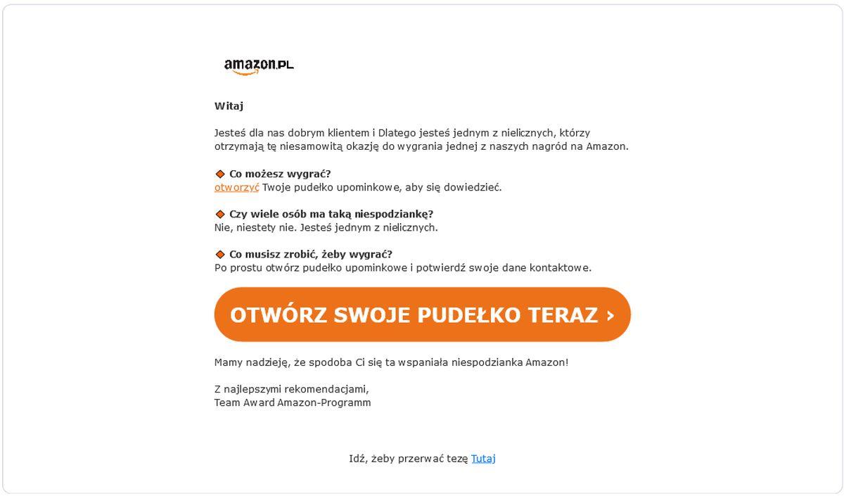 Amazon phising