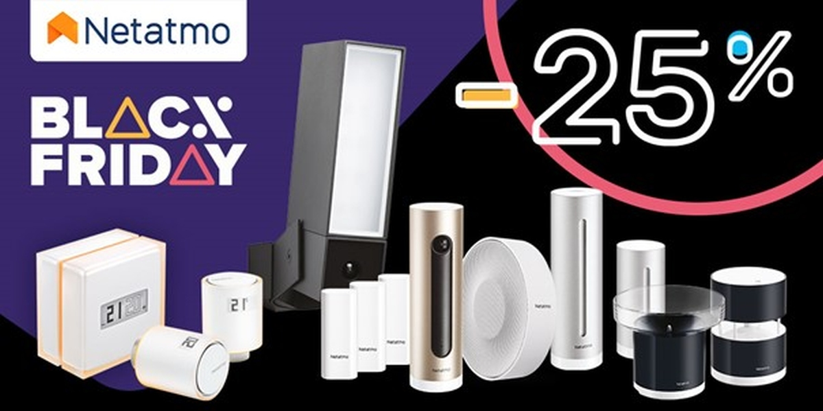 Netatmo Black Friday