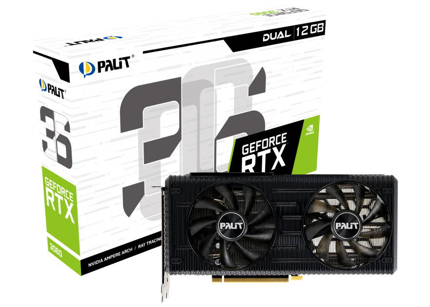 Palit GeForce RTX 3060 Dual