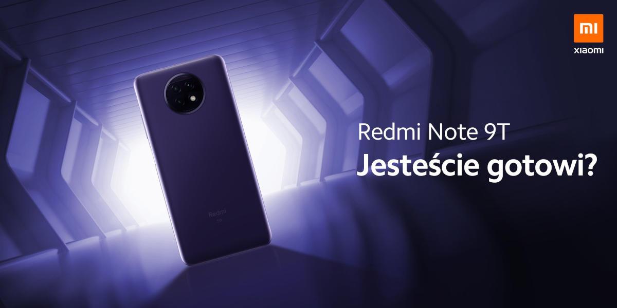 To już dzisiaj! Oglądaj globalną premierę Redmi Note 9T z 5G