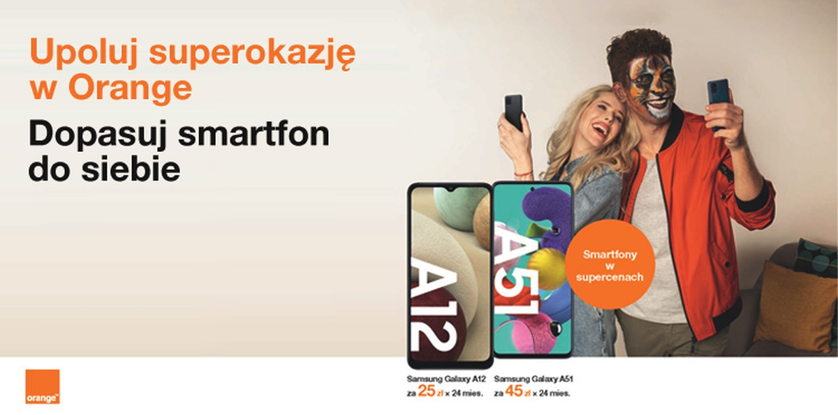 Orange sezon zimowy smartfony