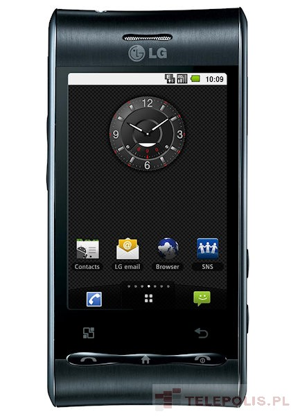 LG GT540 - dane telefonu