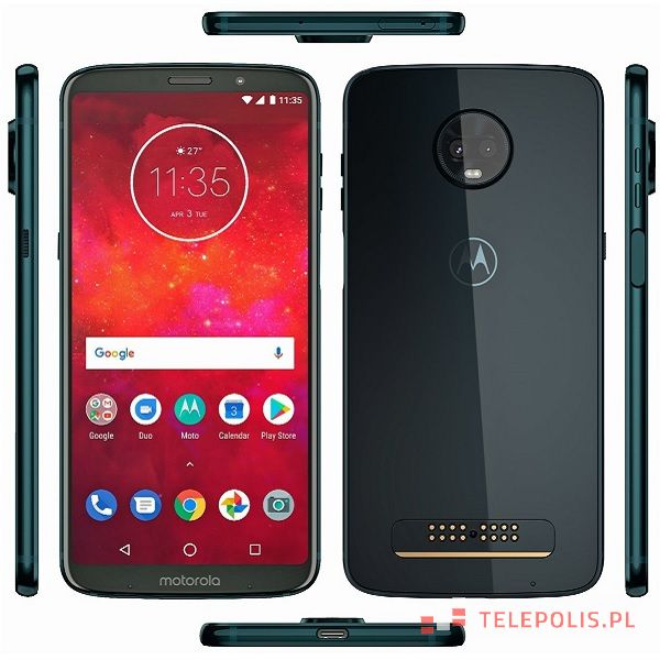 Motorola Moto Z3 - dane telefonu