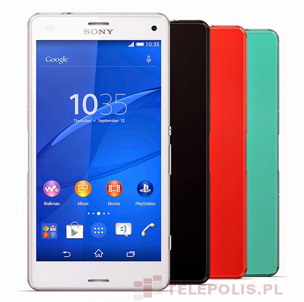 Sony Xperia Z3 Compact dane telefonu