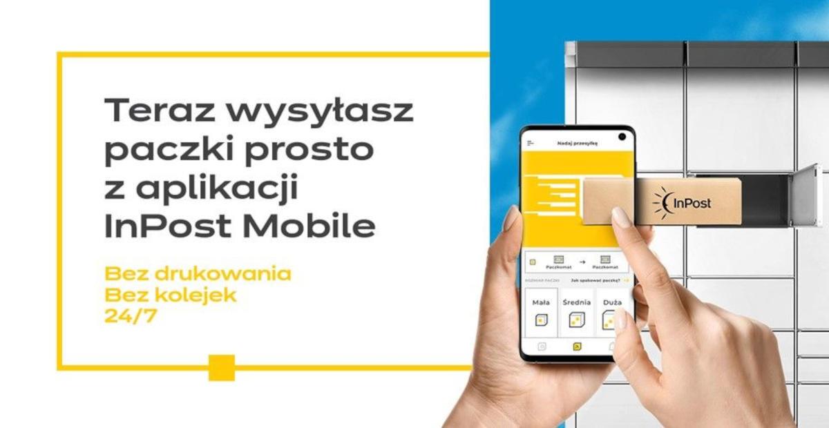 Nowe Metody Platnosci W Aplikacji Inpost Mobile Bedzie Latwiej Nadac Paczke Bez Etykiety Telepolis Pl